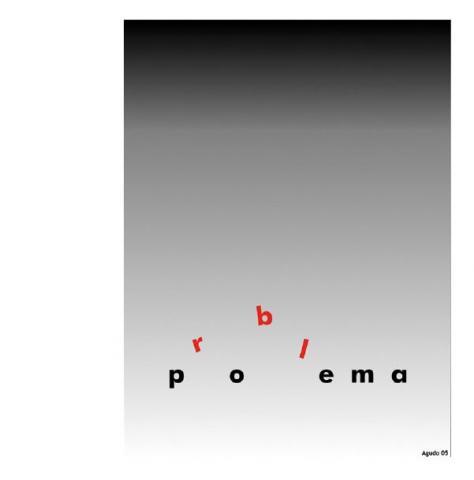 Poema - Problema